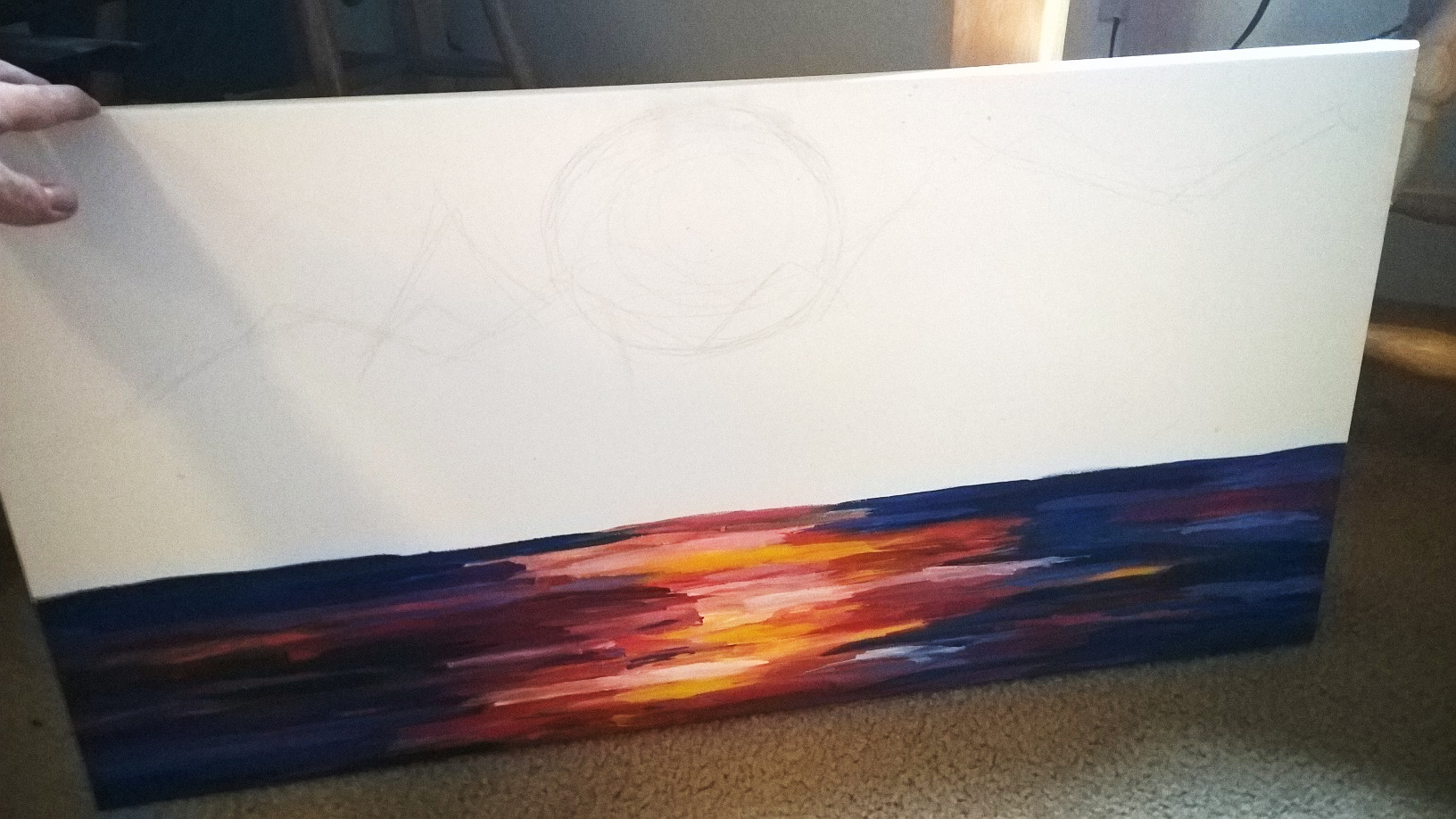 painting-in-process
