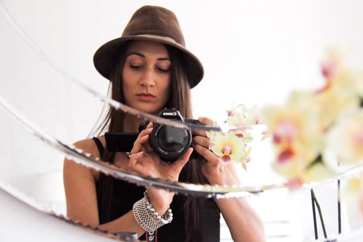 Natasha--creative practice selfie