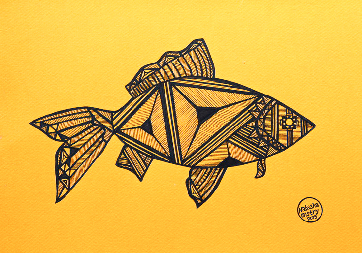 ink-drawing-fish