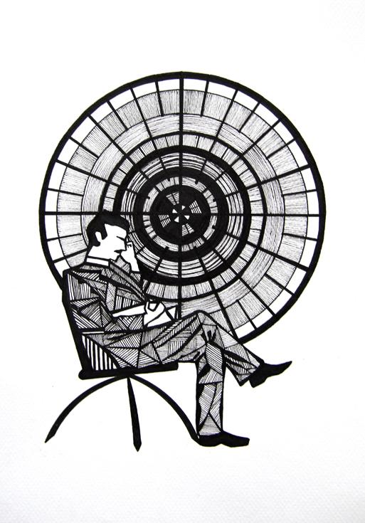 ink-drawing-man