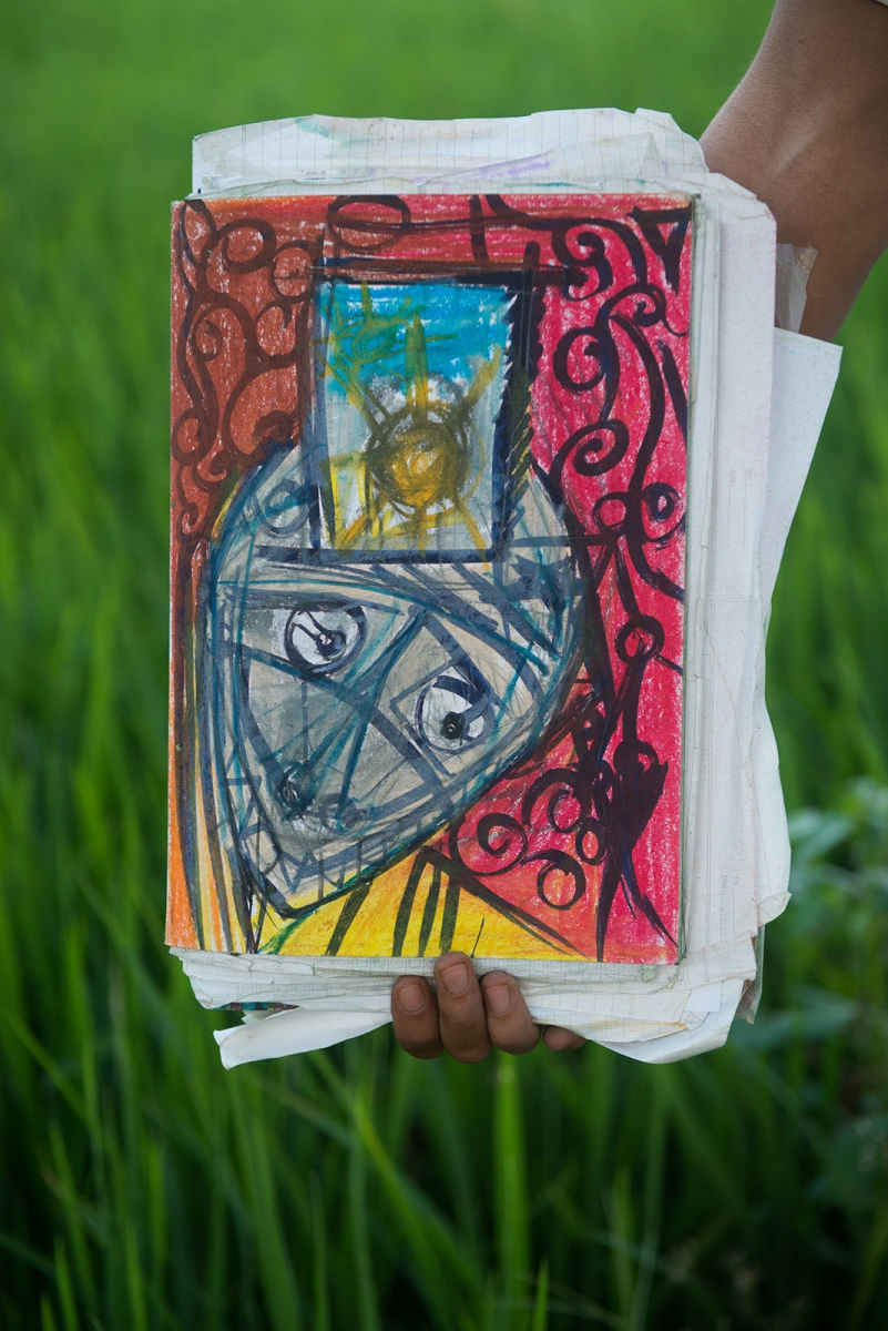 self-portrait-prison-rice-field