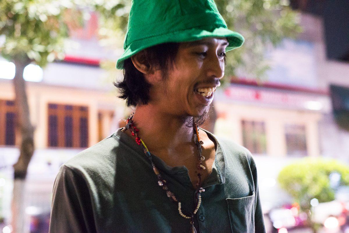 smiling yogya artist