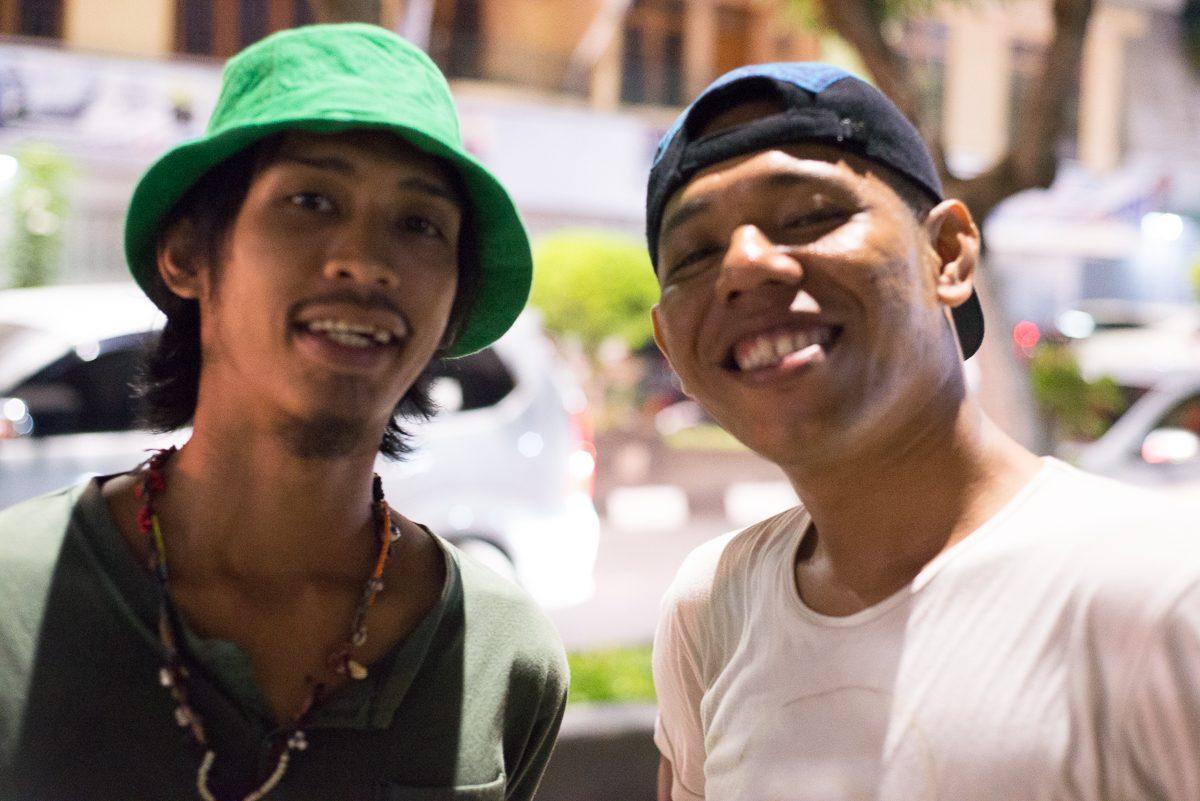 two yogyakarta artists