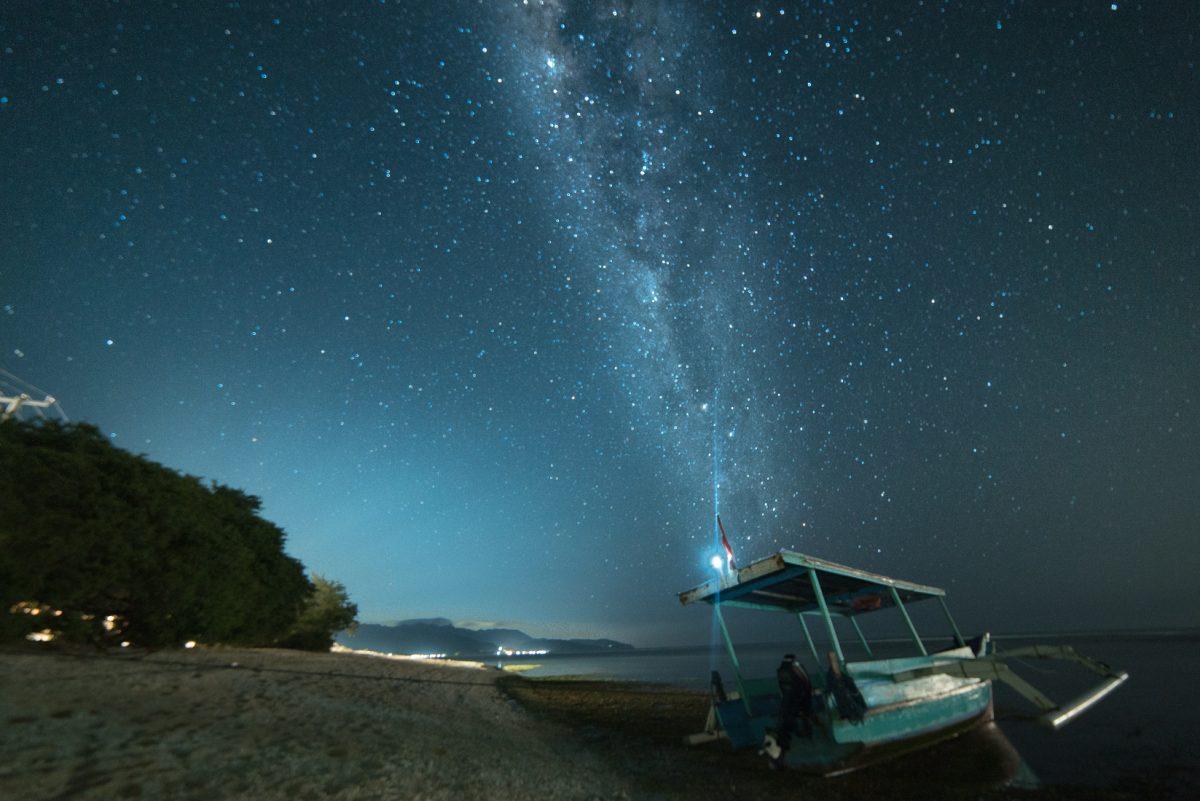 Milky Way Stars night photography