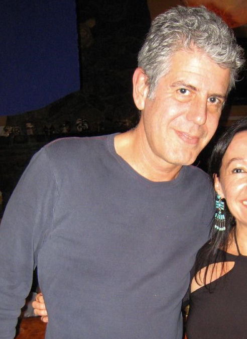 Anthony Bourdain,an advocate for exploring the world