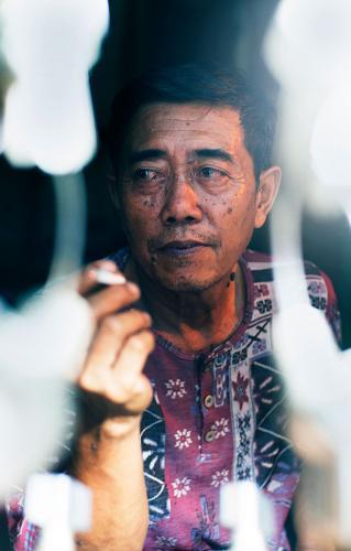 Pak Tri, the Keysmith, Jogjakarta, Indonesia
