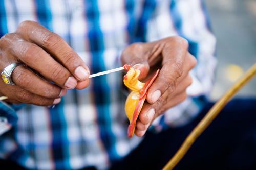 Pak Mamat, the Candy Man, Yogyakarta, Indonesia