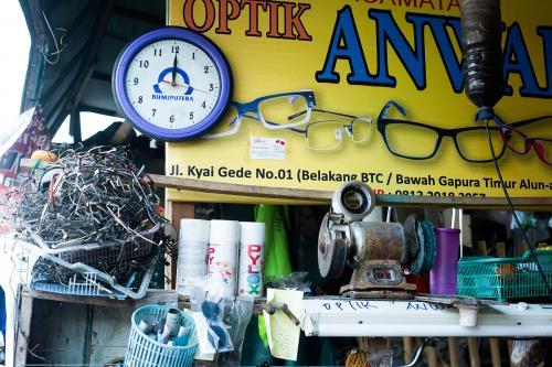 Pak Anwar, the Optician, Solo, Indonesia